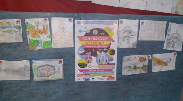 Concurso de Desenhos – Exposição – Galeria de fotos